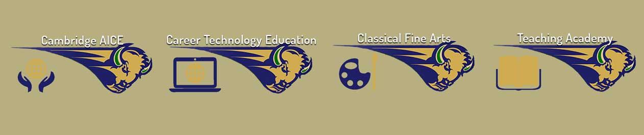 Reagan's Academies Logos
