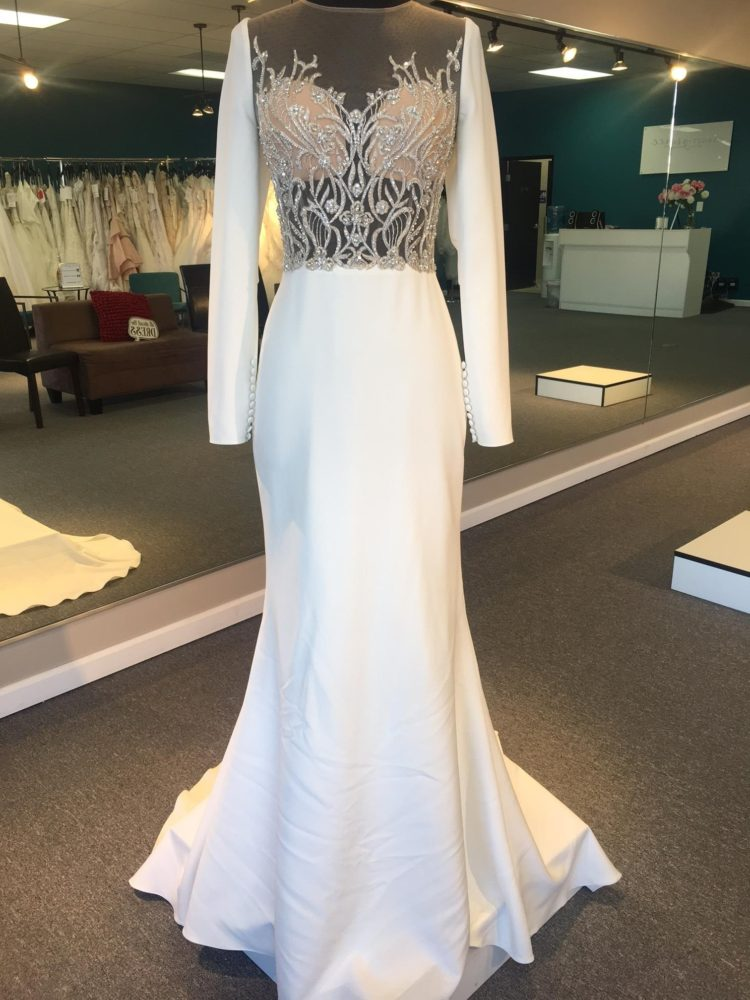 2018 Wedding Dress Trend: Crepe Wedding Dresses