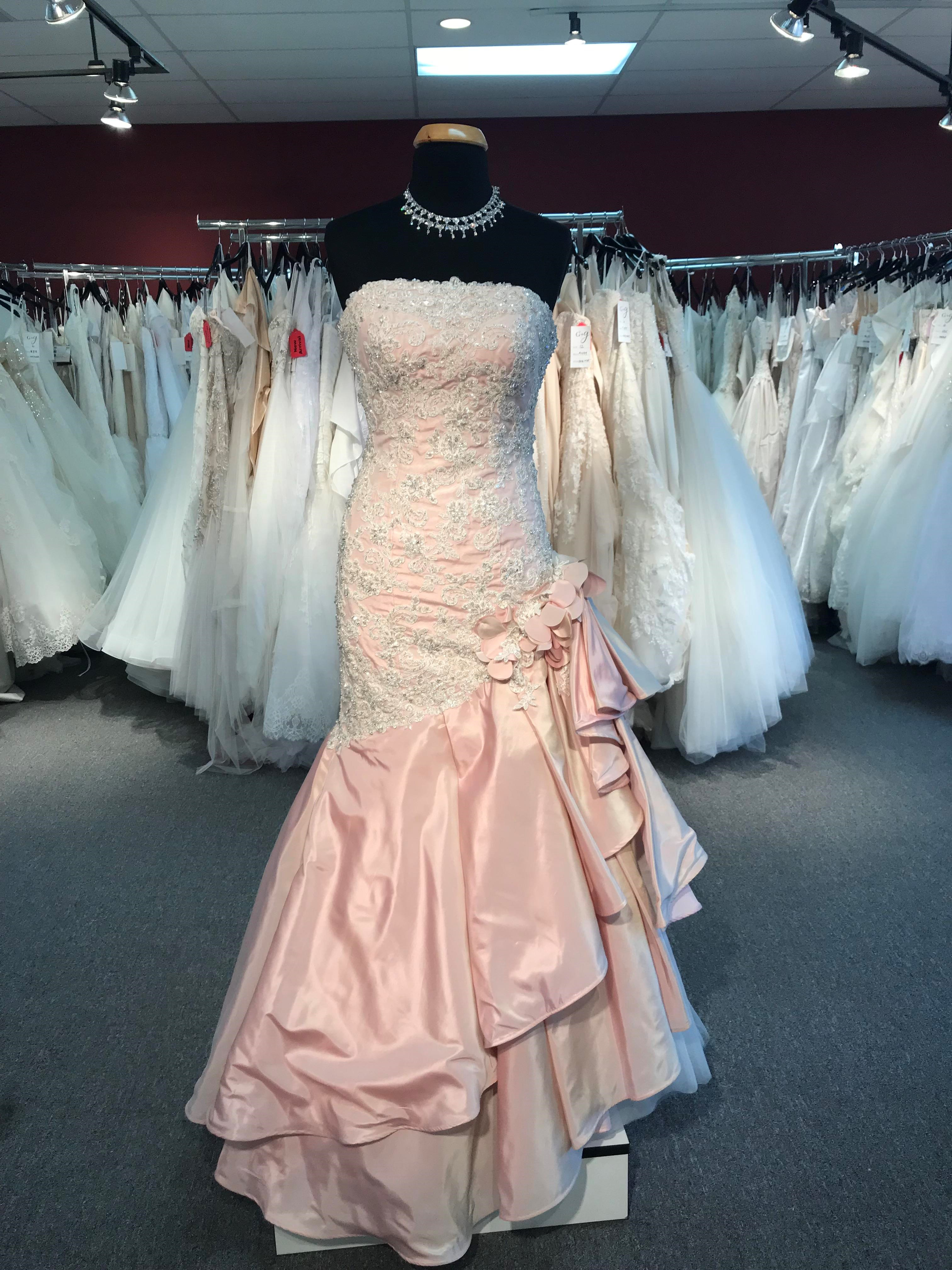 Think PINK! Pink Wedding Dresses Are on Trend for 2018!