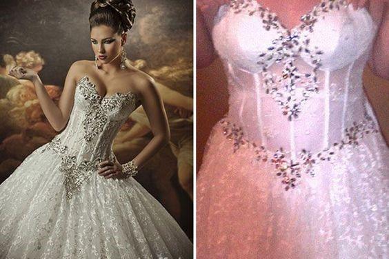 Brides Beware of Online Knock-Off Wedding Gowns!