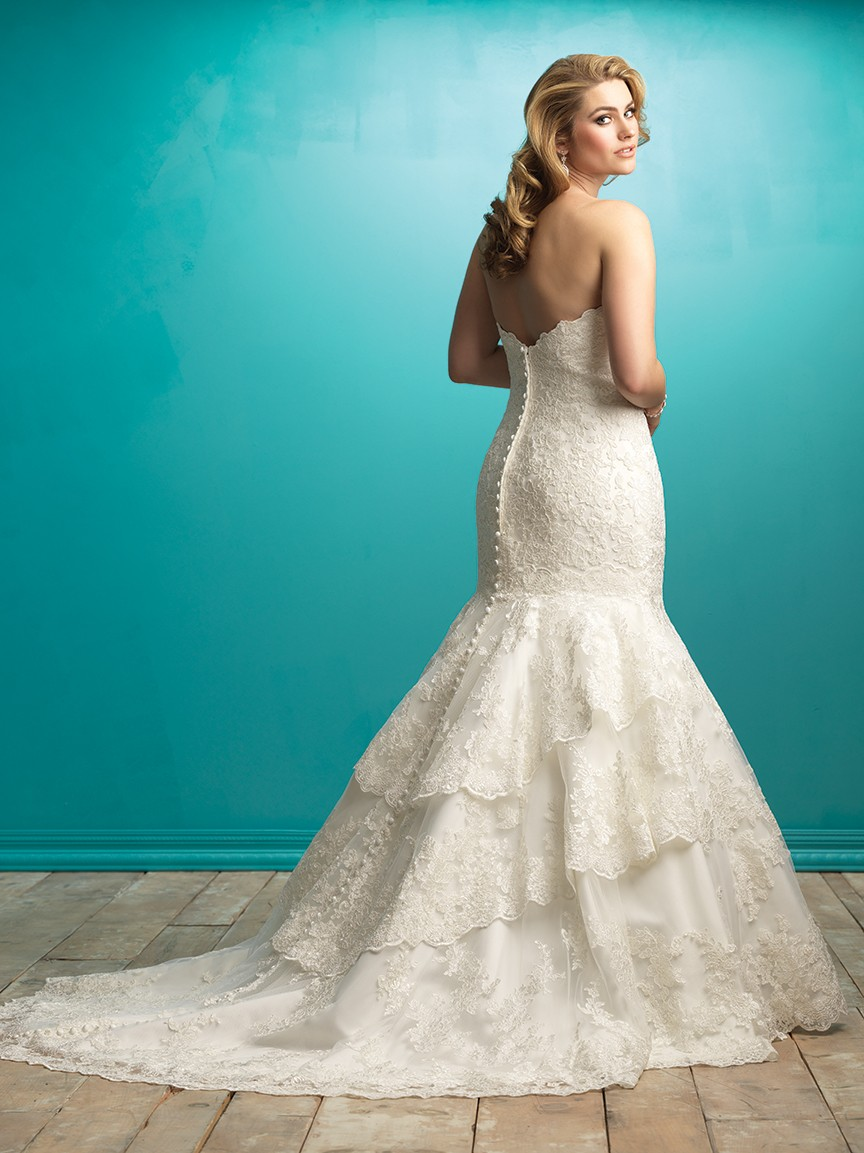 Brand New Allure Bridals Wedding Gowns: Just In Time for Summer!