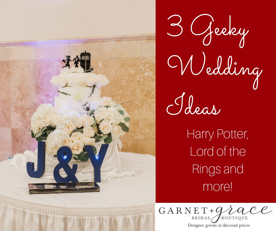 3 Ideas for a Great Geeky Wedding