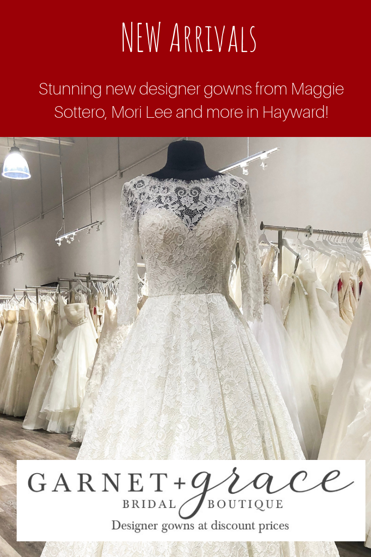 New Designer Wedding Dresses in Hayward