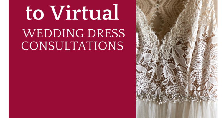 Your Guide to Virtual Wedding Dress Consultations