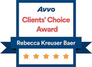 Avvo Clients Choice Award