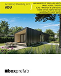 Accessory Dwelling Units by Boxprefab