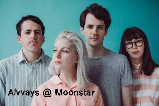 Alvvays @ Moonstar  ฟังเพลง Indy-Pop / Dream-Pop จากแคนาดา