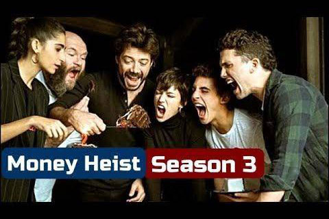 "Money Heist Season 3  ซีรี่ย์ชื่อดังแนวโจรกรรมของสเปน ""La Casa de Papel"""