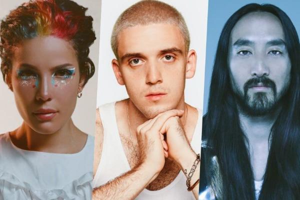 คอนเสิร์ต Big Hit Labels รวมสเตจพิเศษศิลปินที่เคยคอลแลบกับ BTS ทั้ง Halsey, Lauv และ Steve Aoki ข่าวดารา ข่าวบันเทิง บันเทิง ไลฟ์สไตล์ รีวิวหนัง หนังน่าดู BigHitLabels