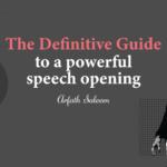 how to start a speech