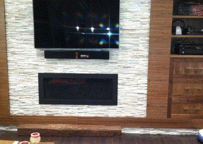 Fireplace & Wall Unit