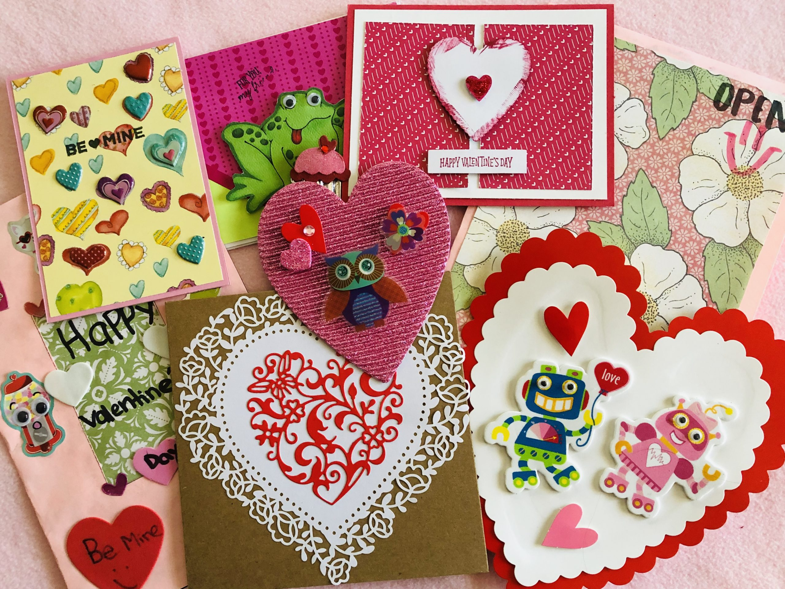 Handmade Valentines for Seniors