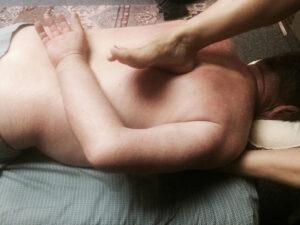 Ashiatsu Barefoot massage
