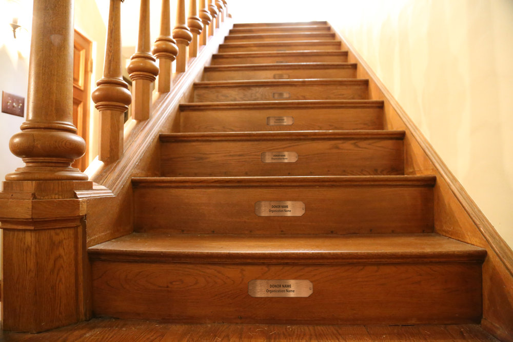 Taylor Made Addiction recovery on site stair riser for sponsorship