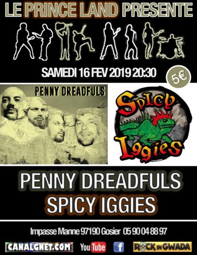 Penny Dreafuls & Spicy Iggies