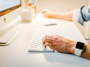 Writing a follow up note, connecting with interviewer