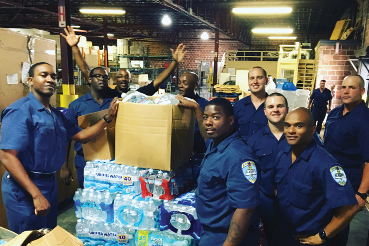 CSM Giving Back Through Disaster Relief