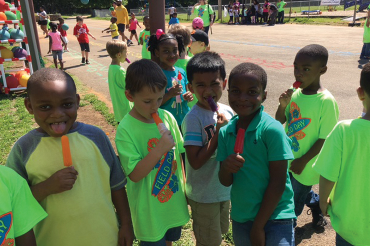 Pinson Elementary: A Popsicle Story