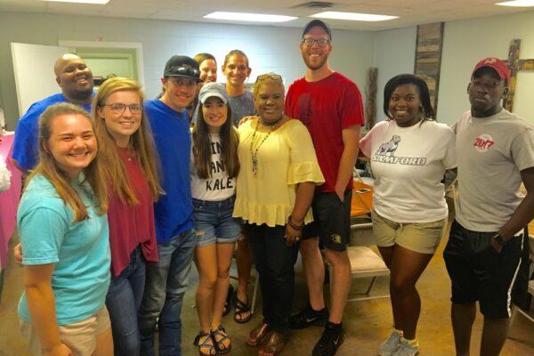 All ten amazing summer interns with Rhonda Marshall