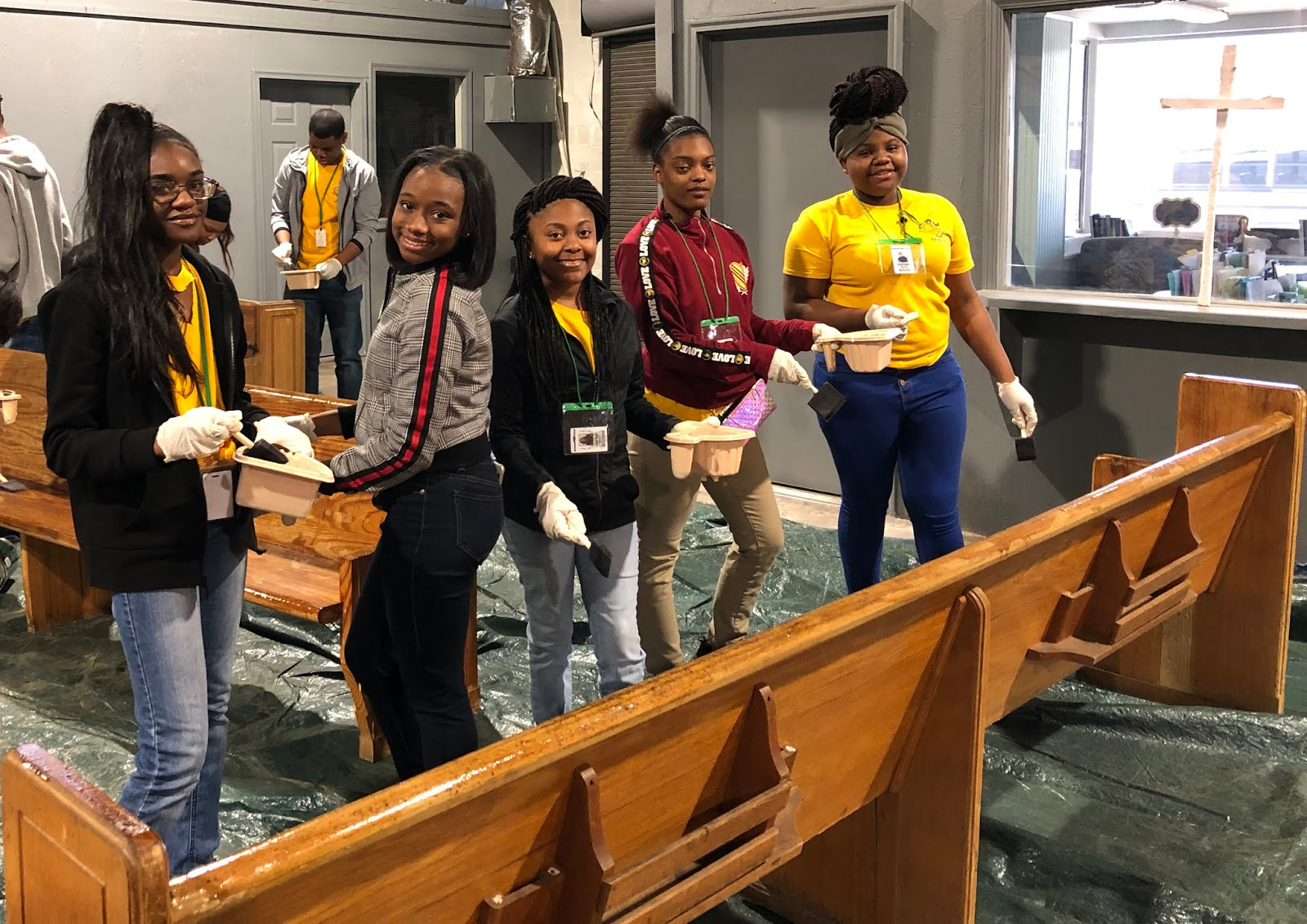 Woodlawn HS Seniors Day of Service