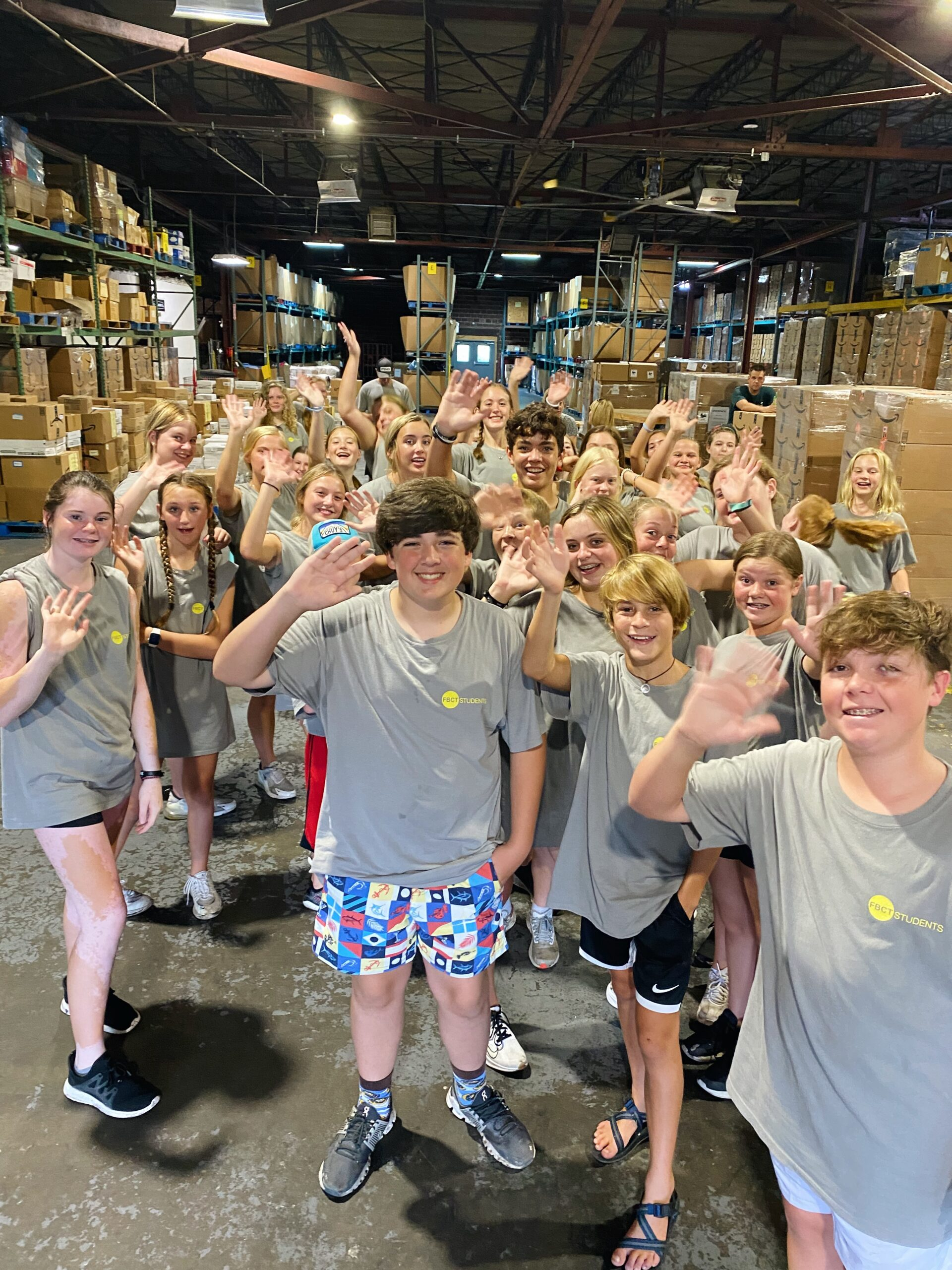 Youth Groups Partake in Meaningful Service