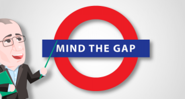 Mind The Gap:  Paralyzed vs. Stuck!