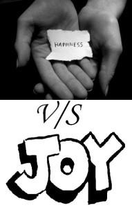 happiness vs joy