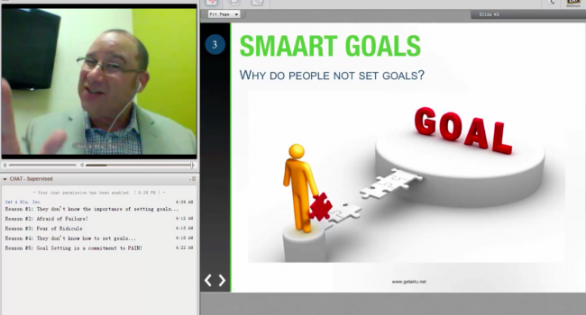 Klubeck's S.M.A.A.R.T. Goal Setting Webinar for Success in 2016!!