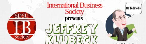 Jeff Klubeck Speaks About Fearless Public Speaking & You're Invited