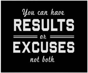 Reasons vs Excuses Get a Klu Blog