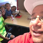 The Klubeck Family lunch sports saturday