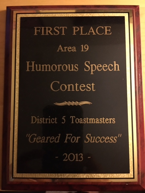 Klubeck Humorous Speech Award