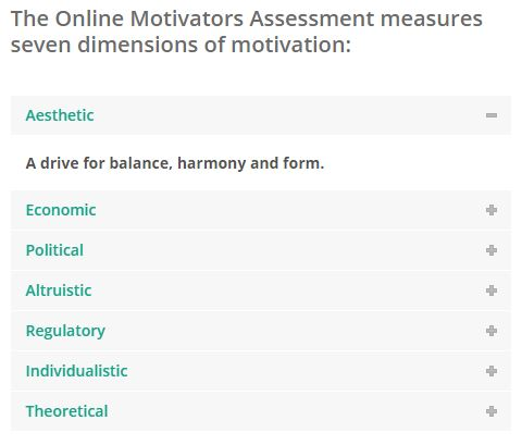 Motivators Assessments Get A Klu