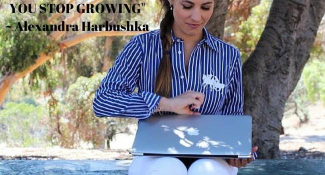 Alexandra Harbushka with Get A Klu 2