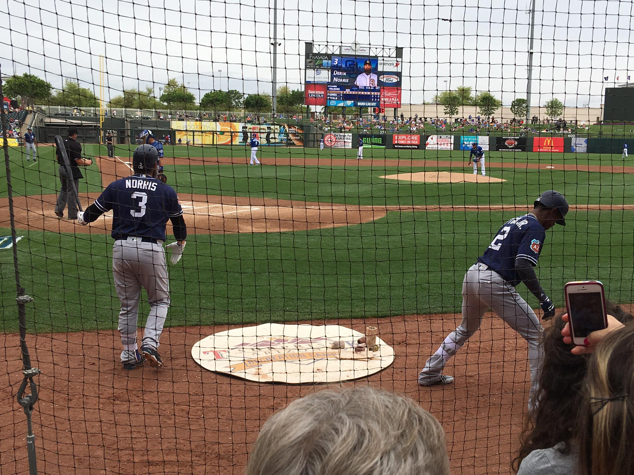 Bucket List  Get A Klu Spring Training Games