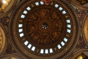 The Dome inside St Paul's Cathedral