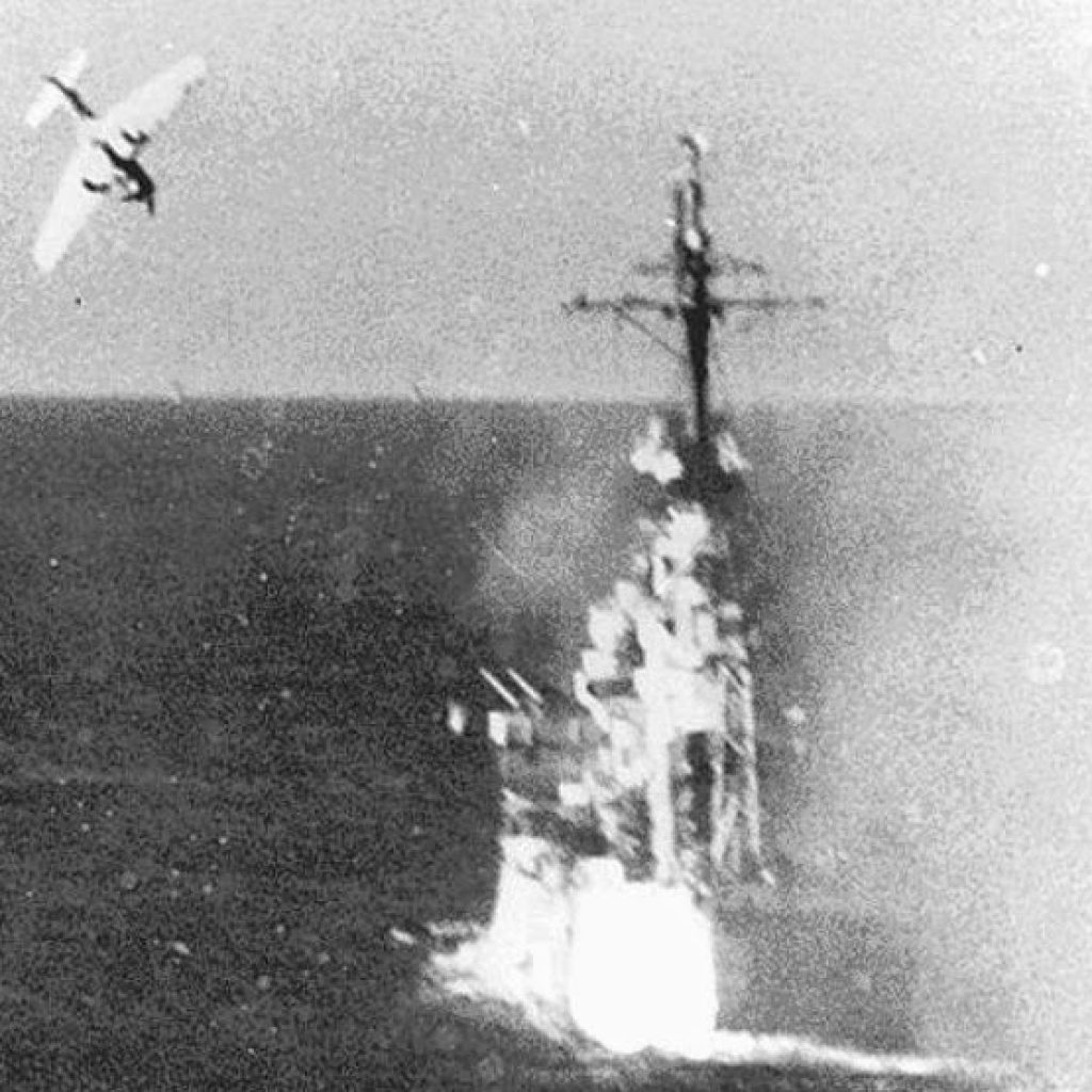 Fighting Japanese Planes in Leyte