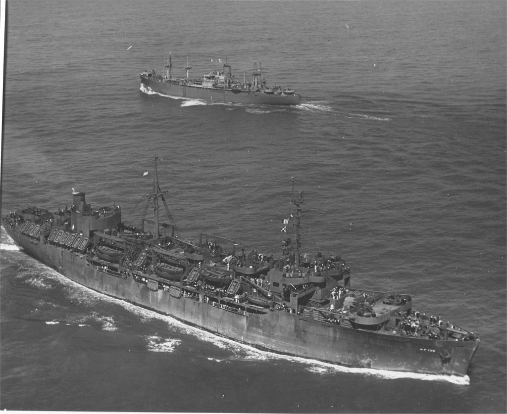 Three Round-Trip Troop Transports to The Pacific