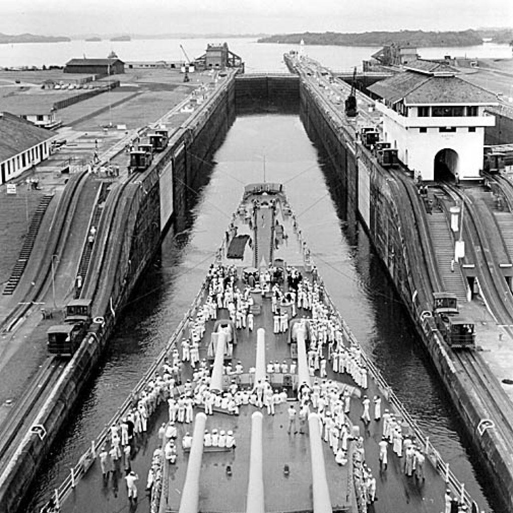 Heading to the European Theater via the Panama Canal