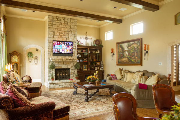 boerne residence smart home tv