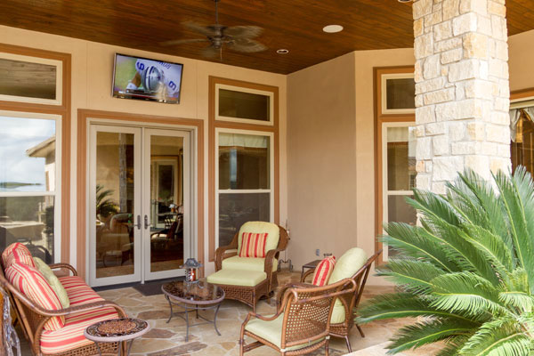 Outdoor Living Home Automation