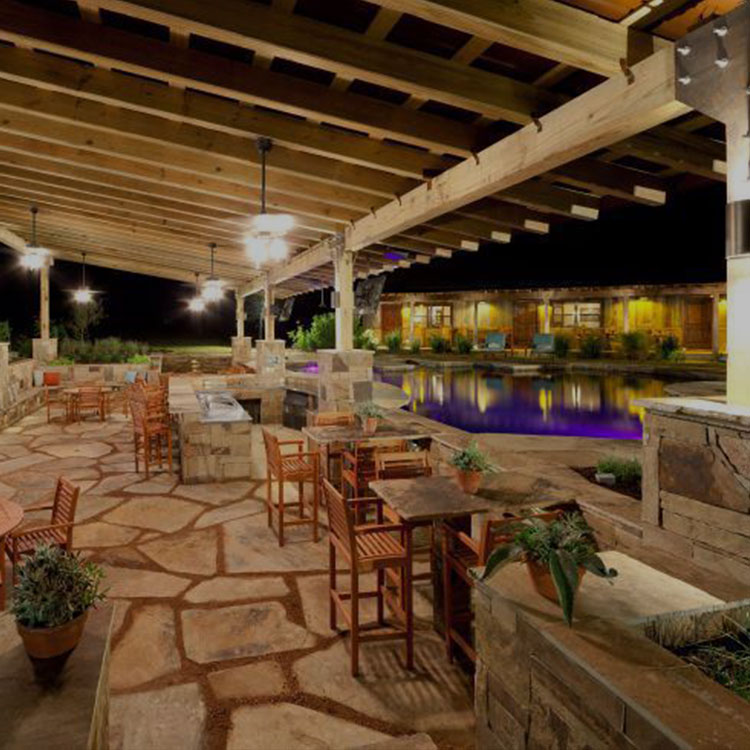 outdoor living whole home automation