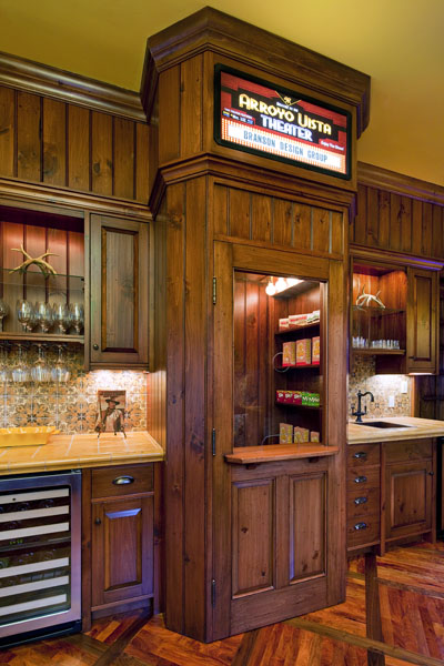 miller home theater kitchen automation