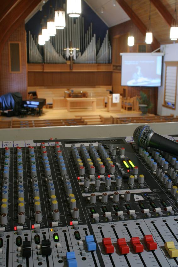 church audio visual technology