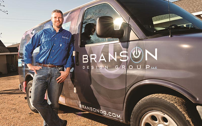 Craig Colvin Branson Design Group Owner