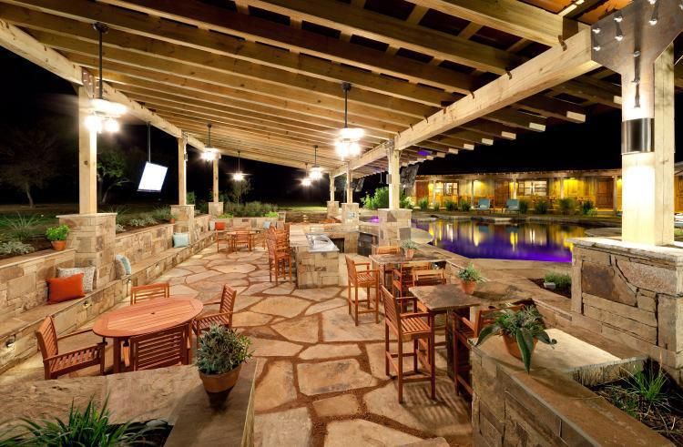 ranch outdoor lighting control