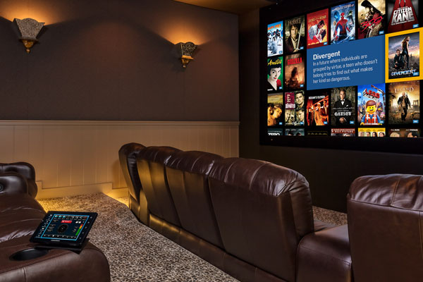 dodge road home automation big screen