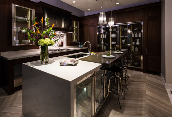 luxury smart home automation kitchen