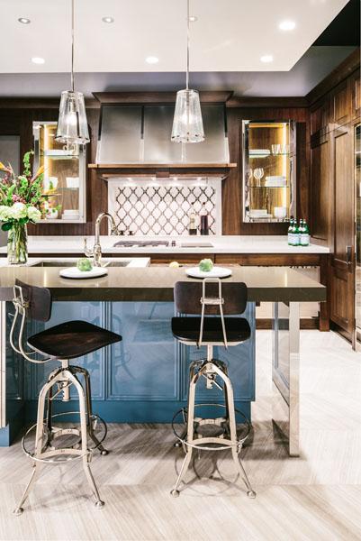 smart home automation kitchen bar
