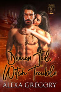 Book Cover: Demon Toil, Witch Trouble